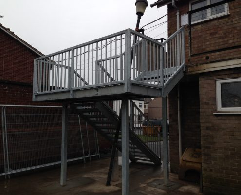 steel staircase manufacturer